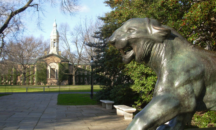 Nassau Hall Princeton Tiger, Photo Credit Aldan Wakely-Mulroney