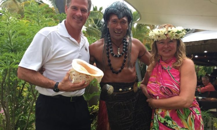 Ambassador Scott Brown expressed his sincere appreciation for the warm welcome he received on his recent introductory trip to the Cook Islands. Photo credit: U.S. Department of State.