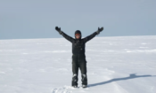 Kaya Riverman in antarctica