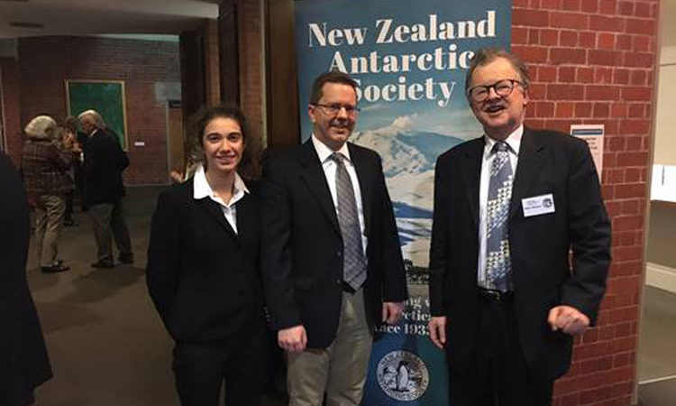 Many thanks to the NZ Antarctic Society for organizing and Vic U for hosting last night's Mid-Winter Antarctic Celebration.. Photo credit: U.S. Department of State.