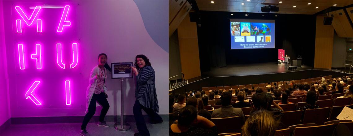 Disney Imagineer, MK Haley, tours New Zealand