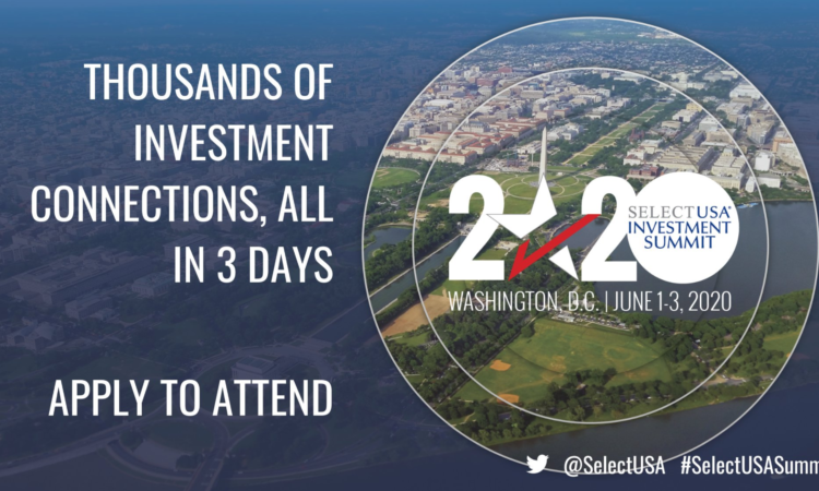 SelectUSA Investment Summit 2020.