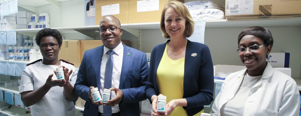 Tenofovir/Lamivudine/Dolutegravir (TLD) Treatment to Namibia
