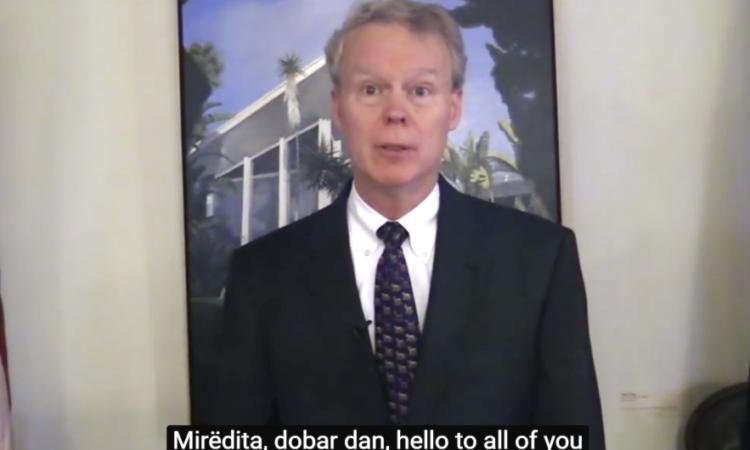 Video poruka Ambasadora Delavia