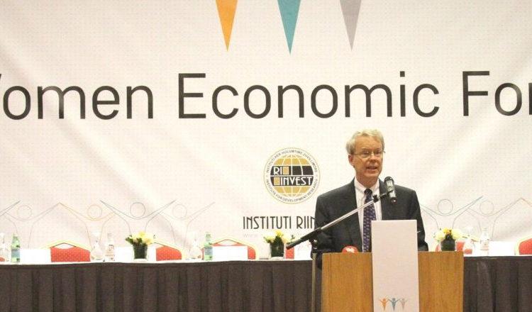 Obraćanje ambasadora Delavija na inauguraciji Privrednog foruma žena 7. oktobar 2016.