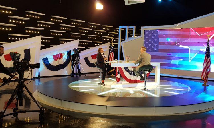 Ambassador Delawie Interview with Klan Kosova on Election Night November 08, 2016