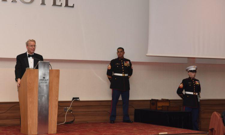 Ambassador Greg Delawie's Remarks for the 241st Marine Corps Birthday Ball