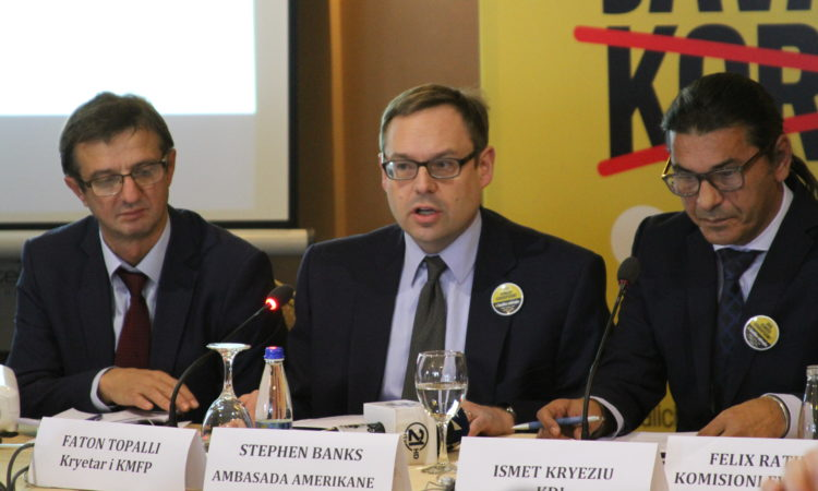 """Political Counselor Stephen Banks remarks at the at """"Transparency of Political Parties Financing"""" Panel, December 7, 2016"""