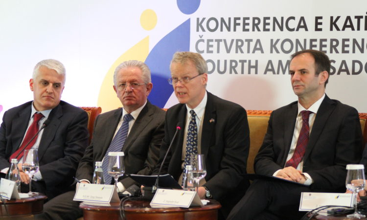 """Ambassador Delawie's remarks at the 4th Conference of Ambassadors """"Kosovo's Security and the new relations with NATO"""" December 20, 2016,"""