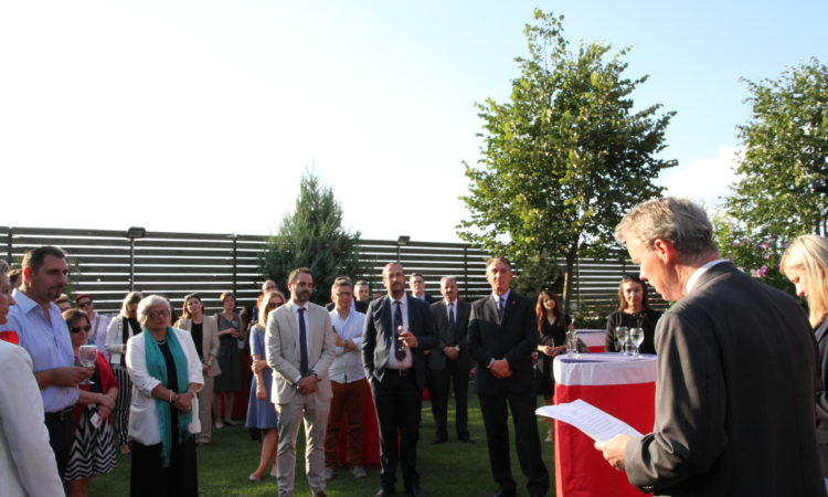 Ambassador Delawie's Remarks at the LGBTI / Rule of Law Reception