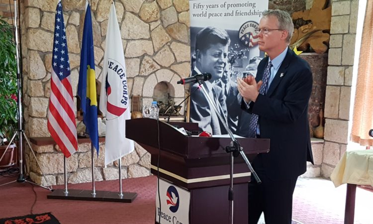 Ambassador Delawie's Remarks at the Swearing-In of the Fourth Group of Peace Corps Volunteers in Kosovo