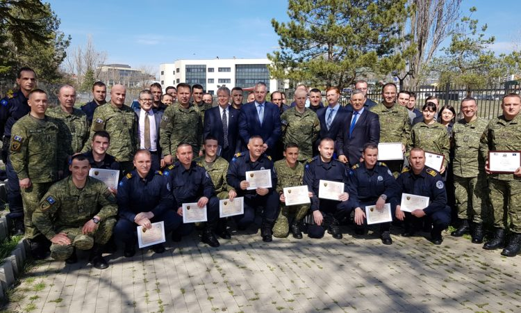 Tactical Trauma Management (TTM) Training Graduation Ceremony