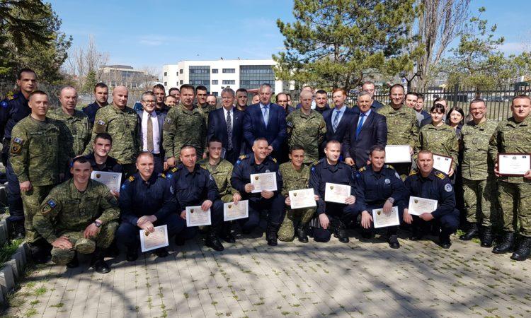 Tactical Trauma Management (TTM) Training Graduation Ceremony