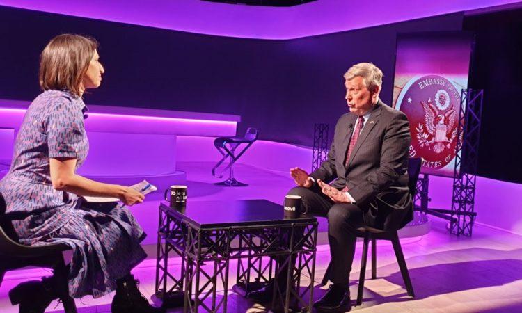 Ambassador Kosnett's Interview with Jeta Xharra