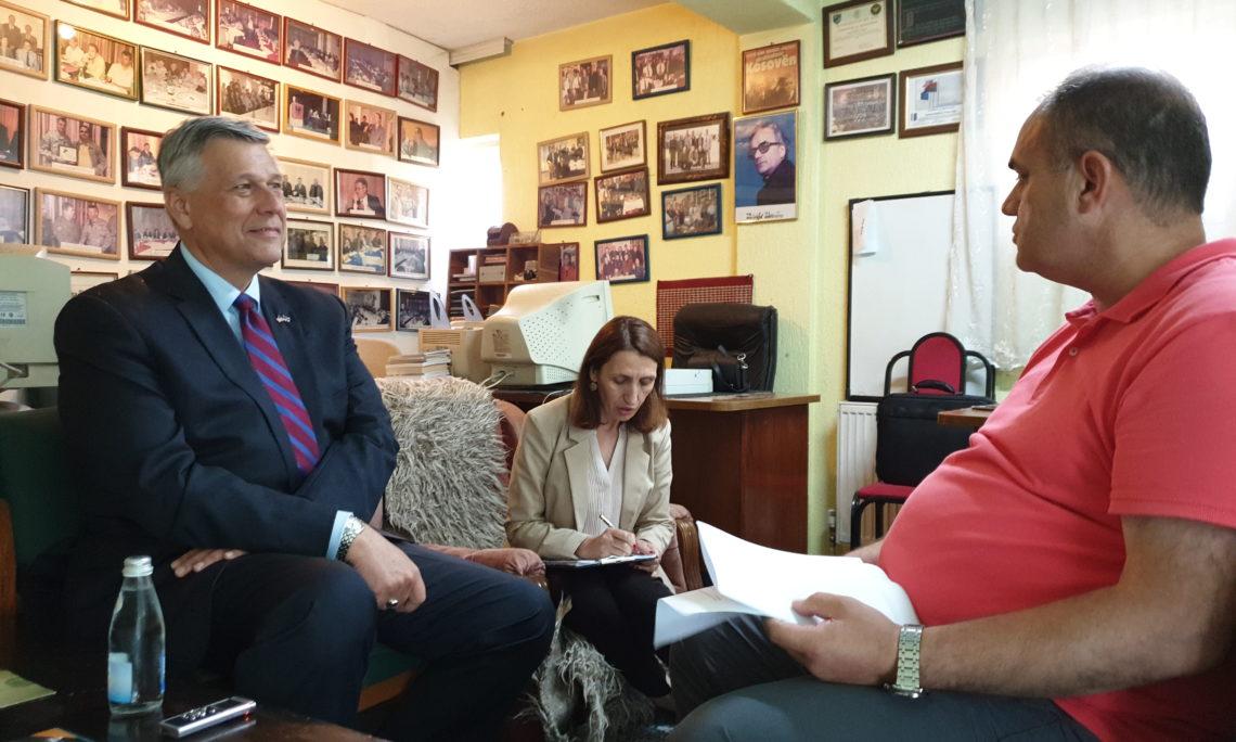 Ambassador Kosnett's interview with Rajonipress