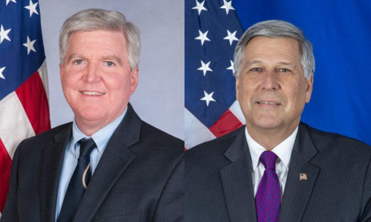 Ambassadors Scott and Kosnett