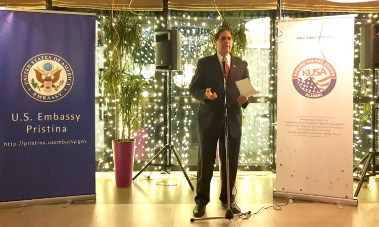 Chargé d'Affaires Nicholas J. Giacobbe's Remarks at KUSA Networking Event