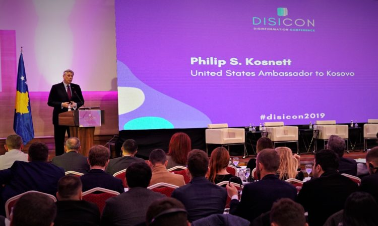 Ambassador Kosnett at the DisiCon
