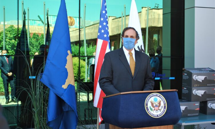 Deputy Chief of Mission Nicholas J. Giacobbe