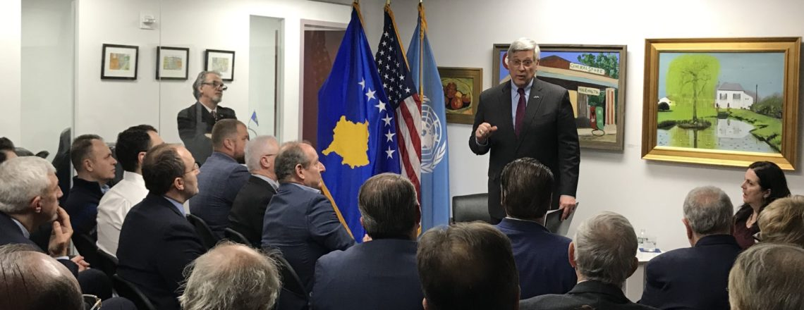 Ambassador Kosnett's Remarks at the Kosovo Consulate General, New York