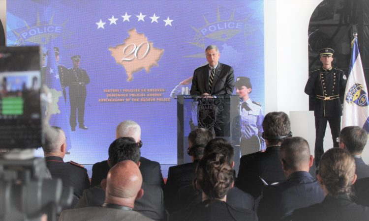 Ambassador Kosnett's Remarks at Kosovo Police's 20th Anniversary Celebration