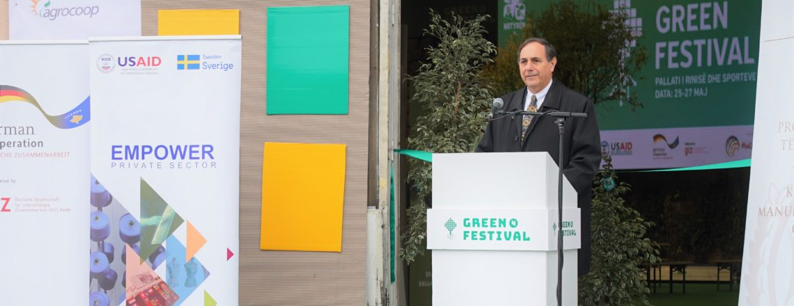Opening Ceremony of the 4th annual Green Festival
