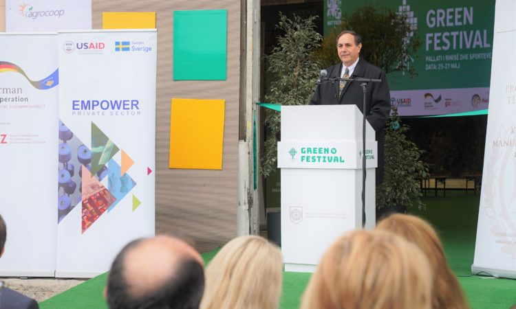 Chargé d'Affaires Nicholas J. Giacobbe Remarks for Opening Ceremony of the 4th annual Green Festival Wednesday, October 30, 2019