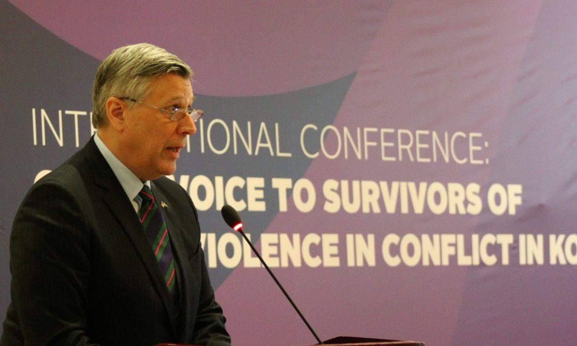 Ambassador Kosnett's Remarks at Jahjaga Foundation Conference on Victims of Wartime Sexual Violence, March 8, 2019