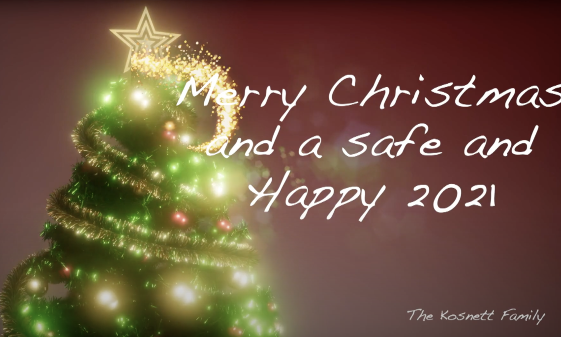 A holiday message from The Kosnett Family.