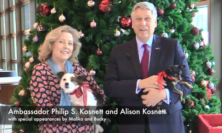 Holiday Greetings from the Kosnett Family