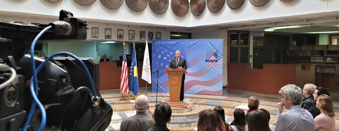 Rihapja e Këndit Amerikan në Prishtinë