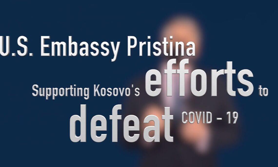 Podrška američke ambasade naporima Kosova da pobedi COVID-19