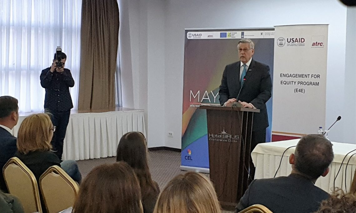 Ambassador Kosnett's Remarks for IDAHOT Conference, May 17, 2019