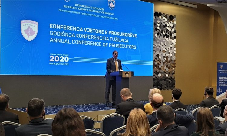 Deputy Chief of Mission Nicholas J. Giacobbe Remarks for Annual Prosecutors Conference