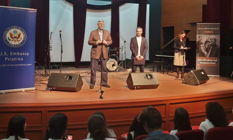 Ambassador Kosnett's Remarks at the Kyle Dillingham Concert in Gjkova, April 8, 2019