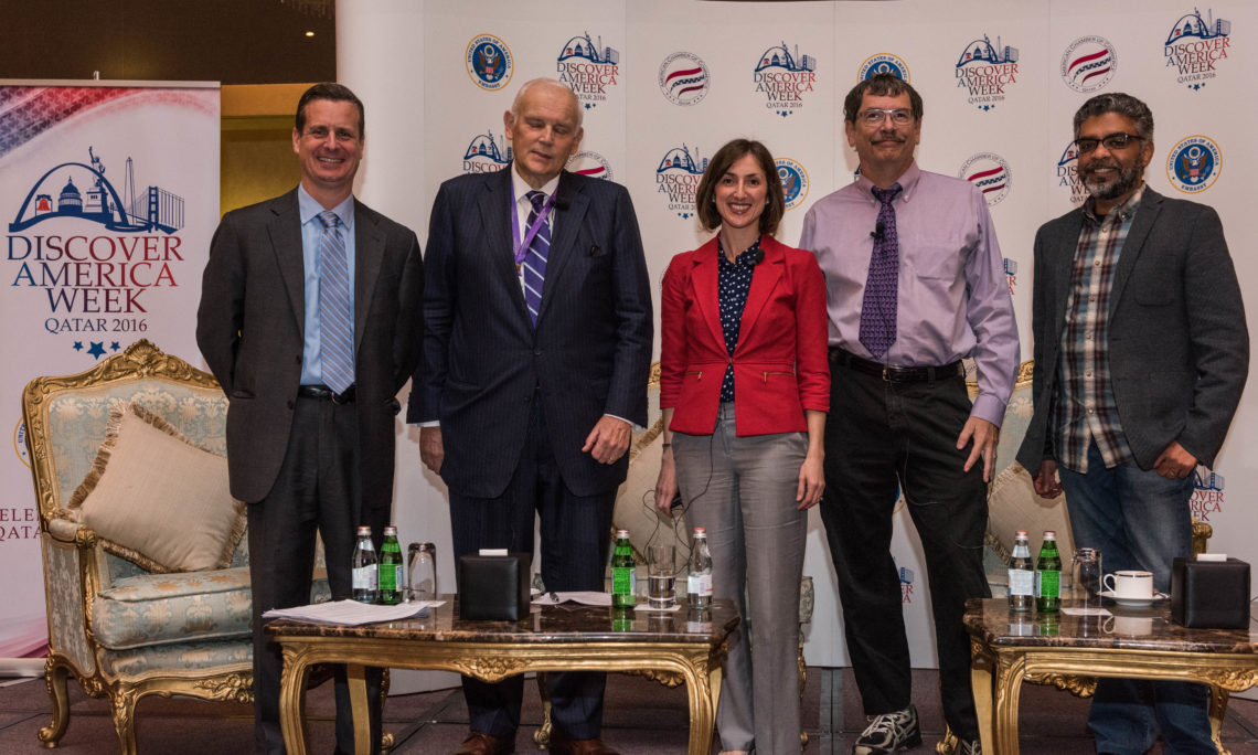 Distinguished Speakers at DAW panel