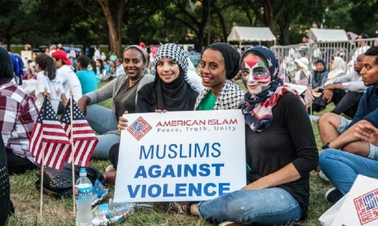 Anti terrorism rally