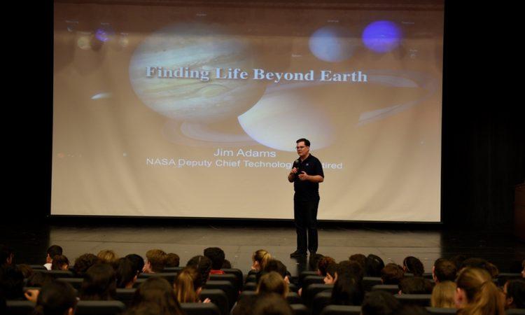 James Adams Presenting