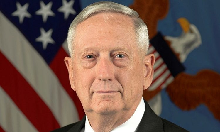 Secretary of Defense James Mattis (Photo: DOD)
