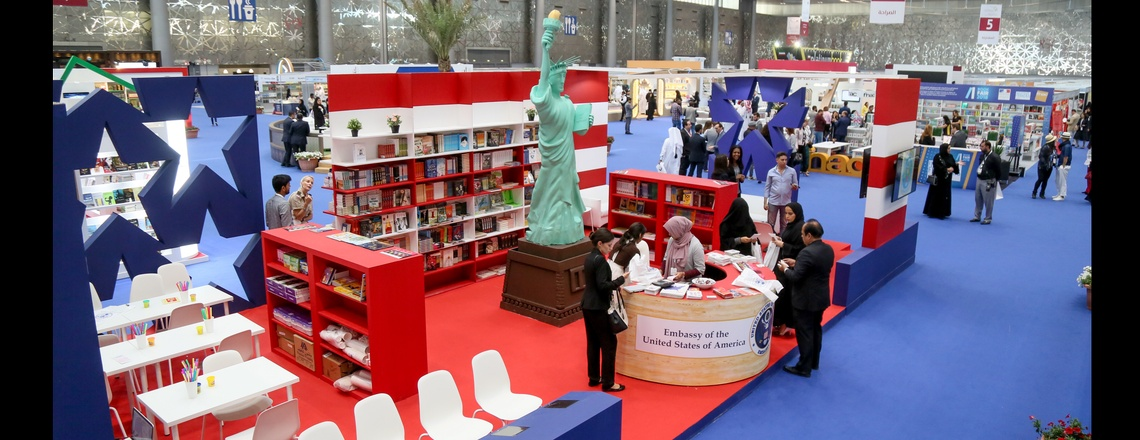 Embassy takes part in the 29th Doha International Book Fair