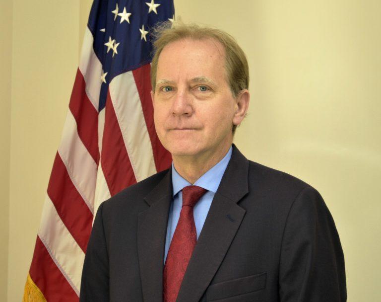 Photo of Chargé d'Affaires Phillip Nelson
