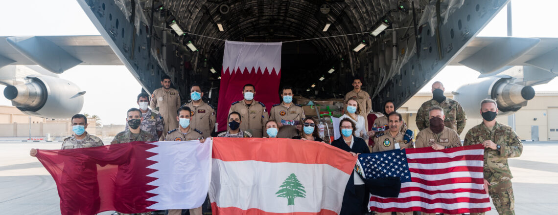 C-17 Flights Deliver 75,000 lbs of Private Donations to the People Of Lebanon