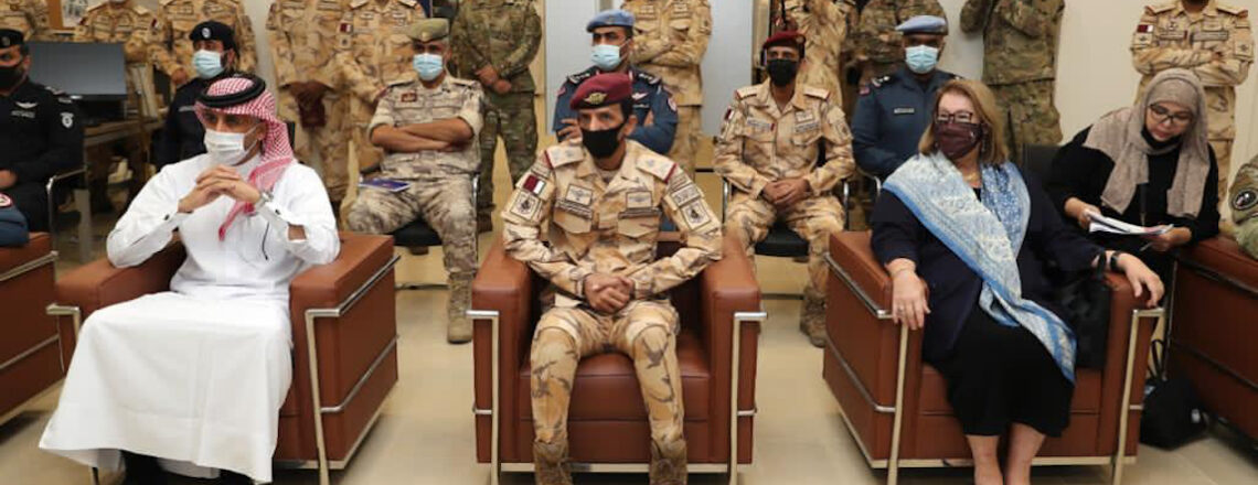 Qatari, U.S. Armed Forces Conclude Exercise 'Invincible Sentry 2021'
