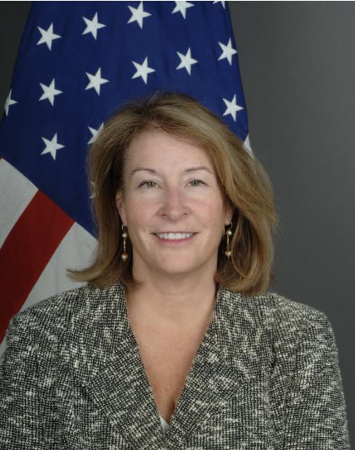 Photo of Chargé d'Affaires Ambassador Greta C. Holtz