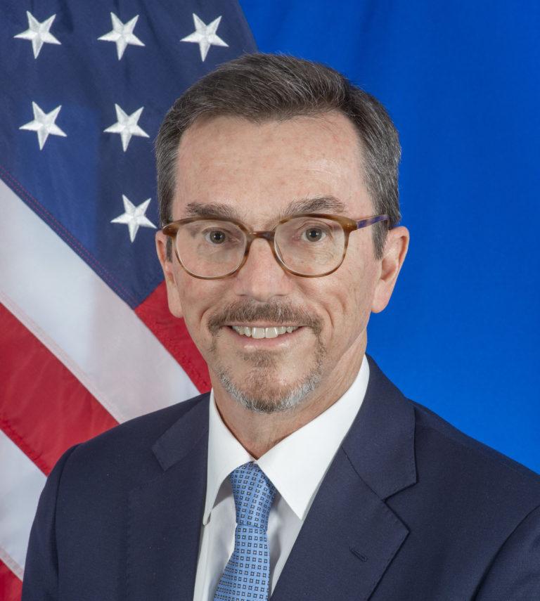 Photo of Chargé d'Affaires, William Grant