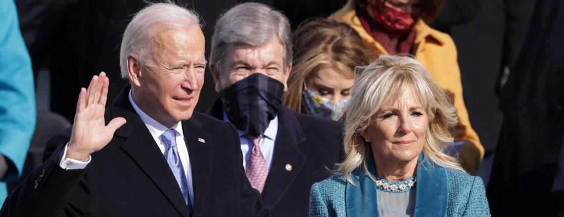 جو بايدن أدى اليمين الدستورية ليصبح الرئيس السادس والأربعين للولايات المتحدة