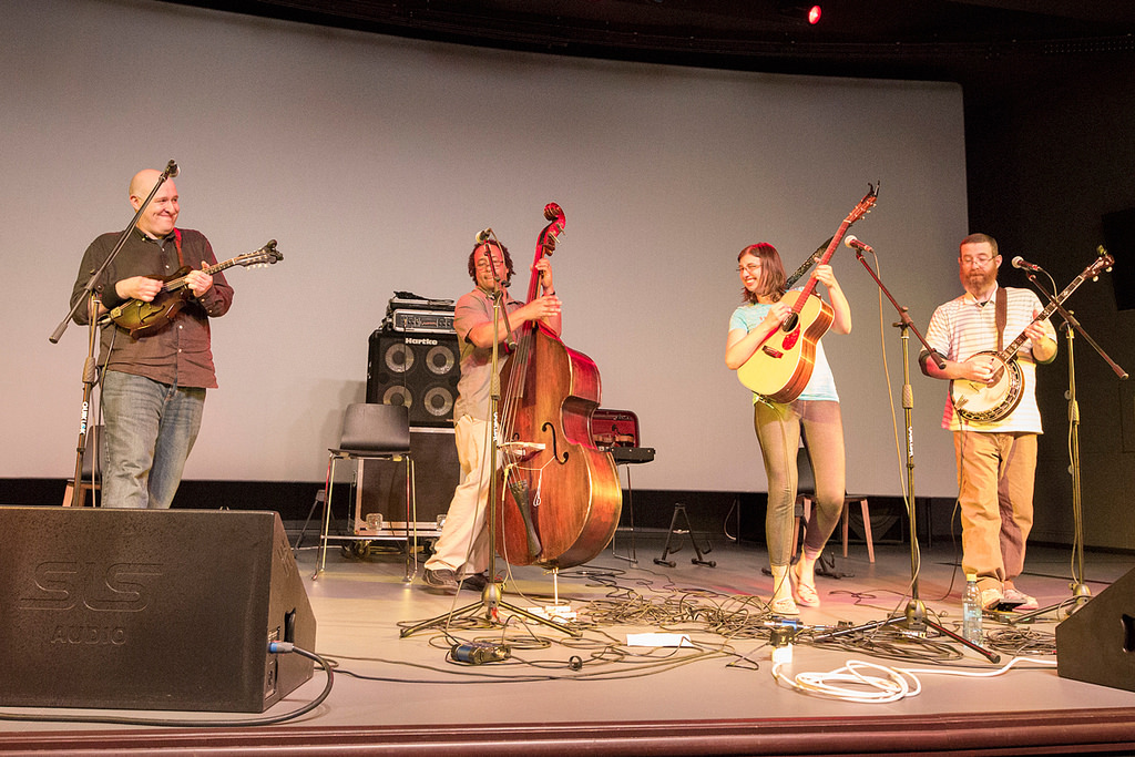 Student Loan band performs at Yeltsin Center (Photo belongs to the US Department of State)