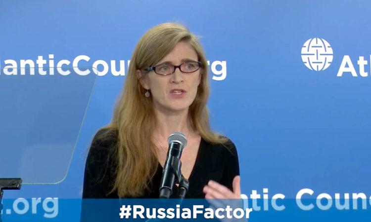 Выдержки из выступления в Атлантическом Совете постоянного представителя США при ООН Саманты Пауэр