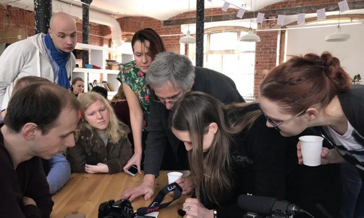 Мастер-класс Кристофера Бивера в Impact Hub Moscow, 3 февраля 2017 г.