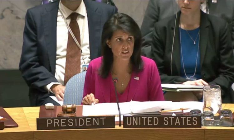Ambassador Nikki Haley Chairs Historic UN Security Council Thematic Debate on Human Rights